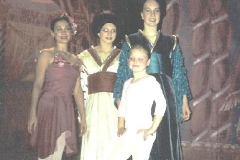 Adriana with her students performing in Albano's Nutcracker